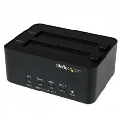 StarTech.com USB 3.0 SATA Hard Drive Duplicator & Eraser Dock - Standalone 2.5/3.5in HDD & SSD Eraser and Cloner