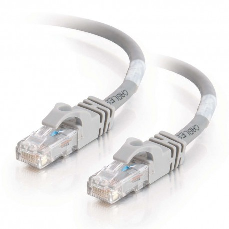 2m Cat6 550 MHz Snagless Crossover Cable - Grey