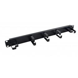 "19"" Horizontal & Vertical 5 Ring Cable Managment Bar"