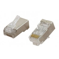 CCS Cat6a FTP RJ45 Plug for Solid Core Cable