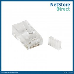 StarTech.com Cat 6 RJ45 Modular Plug for Solid Wire - 50 Pack
