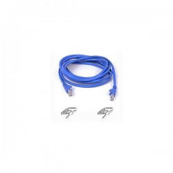 Belkin Cable patch CAT5 RJ45 snagless 1m blue
