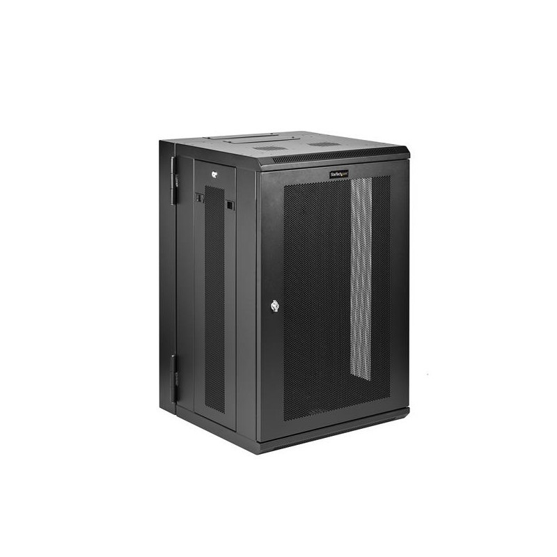 Startech Com 12u 36in Knock Down Server Rack Cabinet With