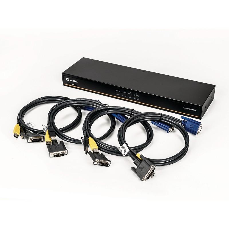 Vertiv Avocent 26-Pin to VGA Target Cable CBL0170 6