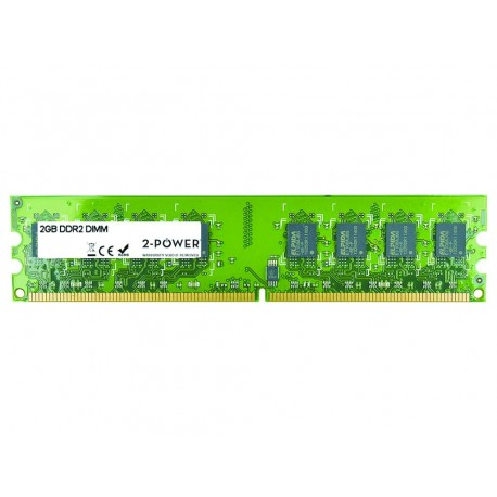 2-Power 2GB DDR2 667MHz DIMM Memory - replaces Kvr667D2N5/2G