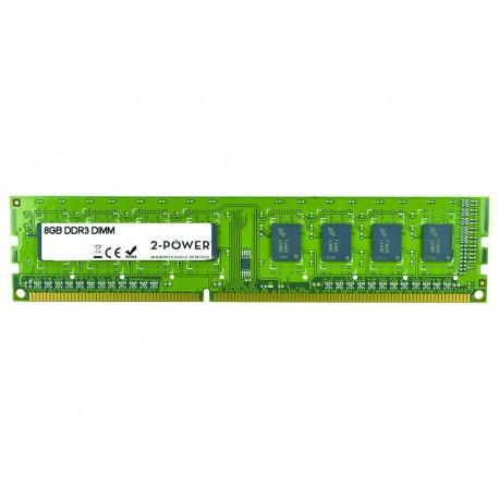 2-Power 8GB DDR3L 1600MHz 2Rx8 1.35V DIMM Memory - replaces V7128008GBD-LV