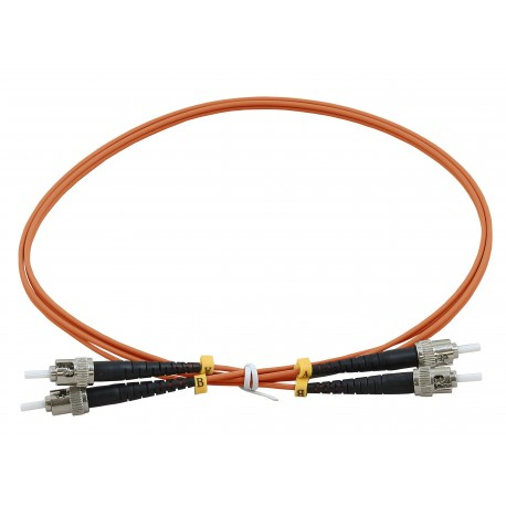 ST - ST Duplex Fibre Patch Cables