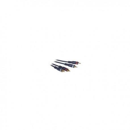 CablesToGo 0.5m Velocity RCA Audio Cable