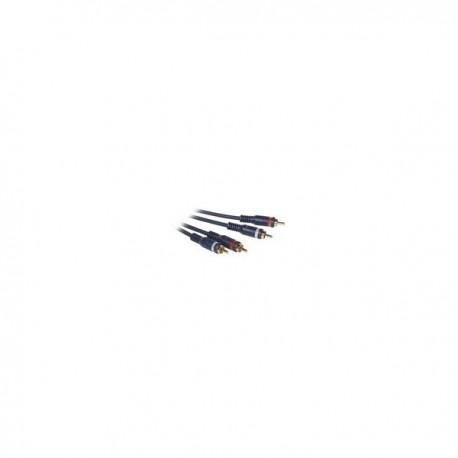 CablesToGo 3m Velocity RCA Audio Cable