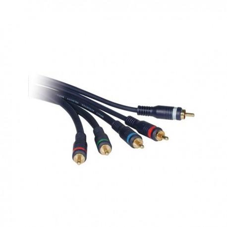 CablesToGo 0.5m Velocity Component Video/RCA-Type Audio Combination Cable