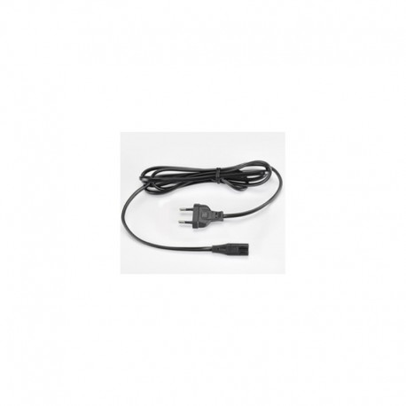 Toshiba Power Cord - 2-Pin (figure of 8), 2m - black, single packed - UK version