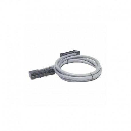 APC Data Distribution Cable CAT5e UTP CMR Gray 6xRJ45 Jack to 6xRJ45 Jack 41ft (125m)