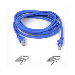 Belkin RJ45 CAT-5e Patch Cable, 2 metre, Blue