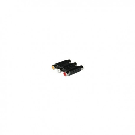 CablesToGo Stereo Audio/Video Coupler Female to Female