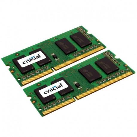 4GB (2x2GB) DDR2-800 CL6 SO-DIMM