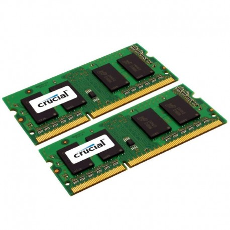 4GB (2x2GB) DDR3-1066 CL7 SO-DIMM