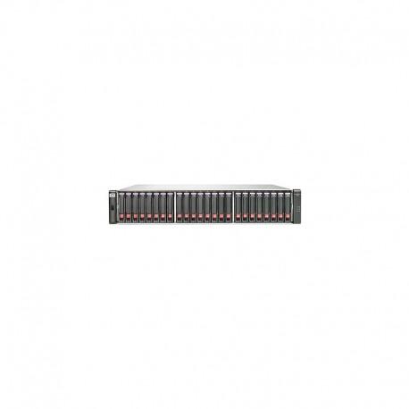 HP P2000 G3 iSCSI MSA DC w/12 600GB 6G SAS 10K SFF HDD 7.2TB Bundle