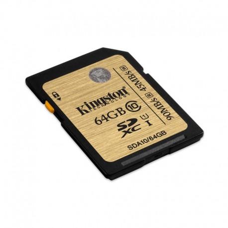 Kingston Technology SDHC/SDXC Class 10 UHS-I 64GB