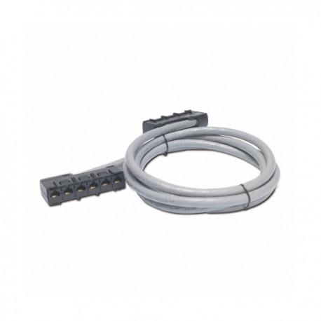 APC Data Distribution Cable CAT5e UTP CMR Gray 6xRJ45 Jack to 6xRJ45 Jack 15ft (45m)