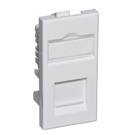 Cat5e UTP RJ45 Modules - Low Profile Euromod Size