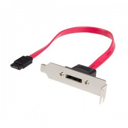 StarTech.com 1ft Low Profile SATA to eSATA Plate Adapter