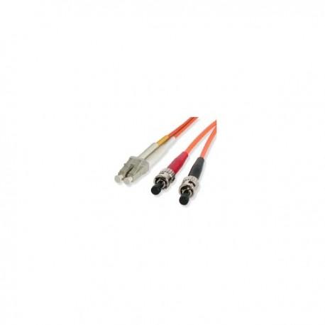 StarTech.com 2m Duplex MM Fiber Optic Cable LC-ST