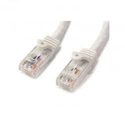 StarTech.com 1m White Gigabit Snagless RJ45 UTP Cat6 Patch Cable - 1 m Patch Cord