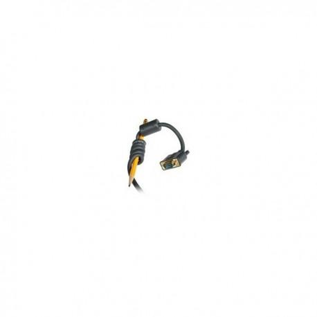 CablesToGo 2m Flexima HD15 M/M Monitor Cable