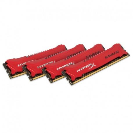 Kingston Technology Savage 32GB 2400MHz DDR3 Kit of 4