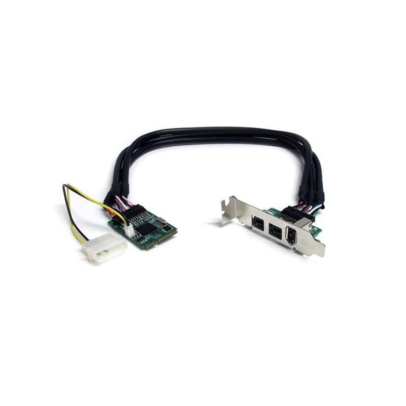 StarTech 3 Port 2b 1a 1394 Mini PCI Express FireWire Card Adapter Loading Zoom