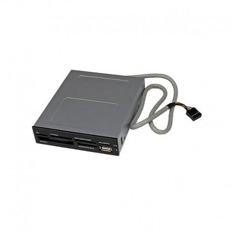 3.5in Front Bay 22-in-1 USB 2.0 Internal Multi Media Memory Card Reader - Black