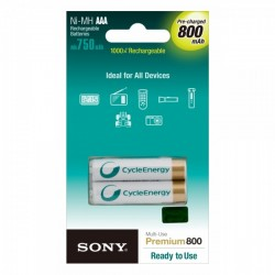 Sony Rechargeable Batteries