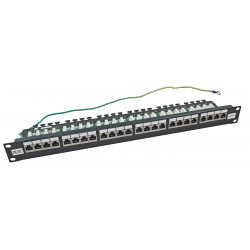 Cat6a Patch Panels & Keystone Jack Frames