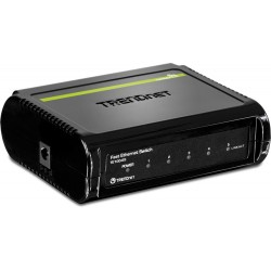 TRENDnet Desktop Unmanaged Fast Ethernet Switches