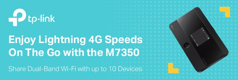 Enjoy lightning g$ speeds on the go with the M7350